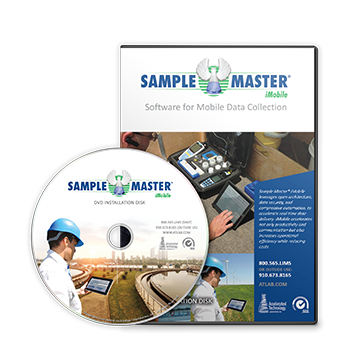 Sample Master iMobile Software for Mobile Data Collection Box